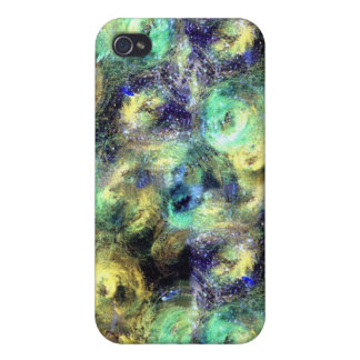 Colored Circles iPhone 4 Cover
