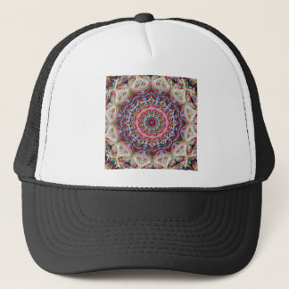 Colored Circular Mandala Trucker Hat