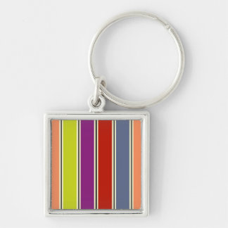 Colored Columns Keychain