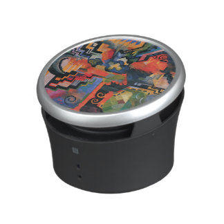 """Colored Composition"" Art bluetooth speaker"