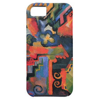 Colored composition by August Macke iPhone SE/5/5s Case