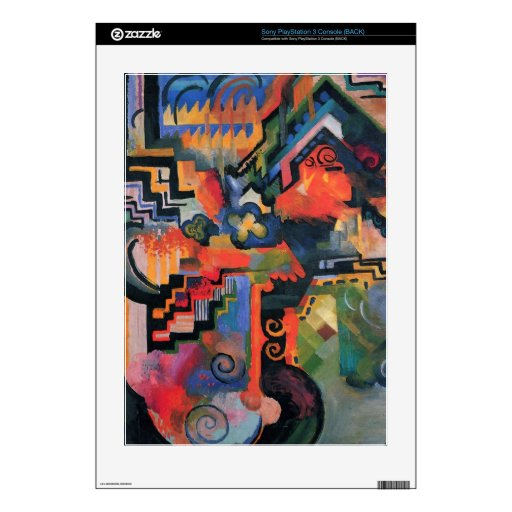 Colored composition  by Macke PS3 Skins