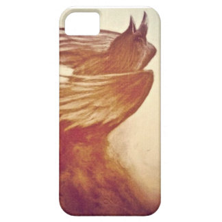 colored crow iphone case