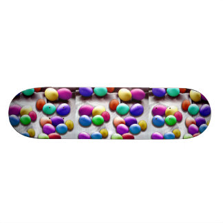 Colored Easter Egg Fun Skateboard Deck