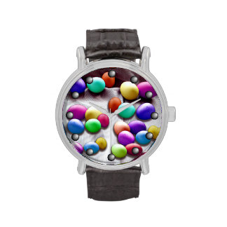Colored Easter Egg Fun Watches