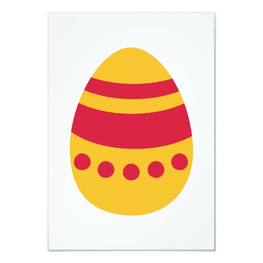 Colored Easter eggs Announcement