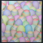"Colored Easter Eggs Background Cloth Napkin<br><div class=""desc"">Pretty pastel colored Easter Eggs - Light colors with shades of blues, pinks, yellows, greens and more. ---- At *I Got Your Back(ground)* Store, you&#39;ll find decorative backgrounds of many kinds, ready for you to add your personal text or photo! Please Click the - IGOTYOURBACK - tag listed below or...</div>"