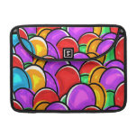 Colored Easter Eggs Sleeve For MacBook Pro