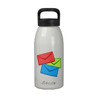 Colored Envelopes Drinking Bottle