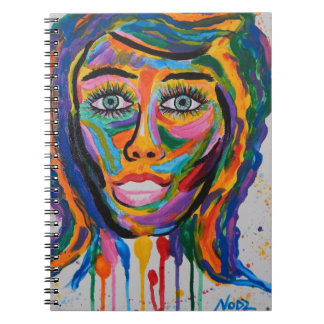 COLORED FACE NOTEBOOK