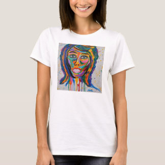 COLORED FACE T-Shirt