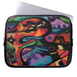 colored fantasy art laptop lseeve laptop computer sleeve
