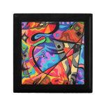 colored fantasy design art giftbox trinket boxes