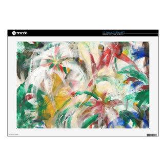"""Colored Fingerpaint Art 17"""" Laptop Decals"""