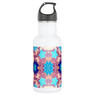 Colored Flowers Water Bottle