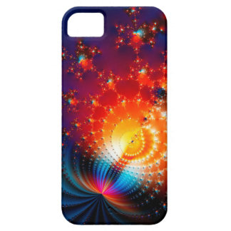 colored fractal iphone case