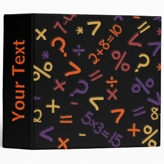 Colored Fractions, Number Design Binders