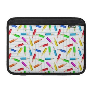 Colored Graphing Pencils MacBook Air Sleeves