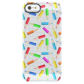 Colored Graphing Pencils Uncommon Permafrost® Deflector iPhone 5 Case