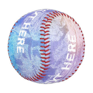 Colored grunge waterpainting + your ideas baseball