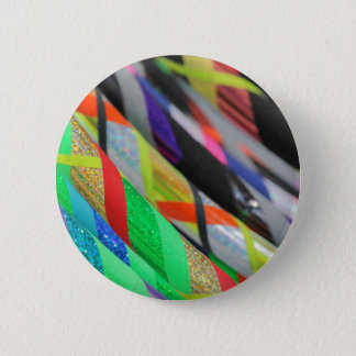 colored hula hoop pinback button