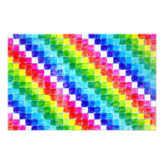 Colored In Graph Paper Squares