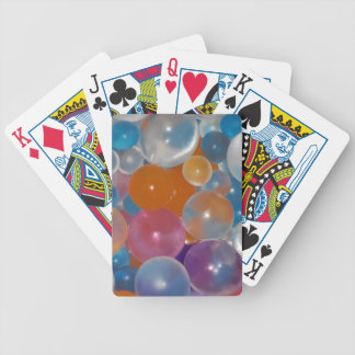 Colored-jelly-balls429 BALLOONS PARTY JELLY COLORF Bicycle Card Deck