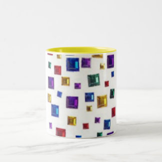 Colored Jewels Mug