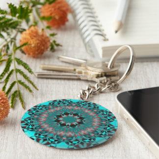 Colored Kaleidoscope Keychains