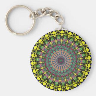 Colored Kaleidoscope Keychain