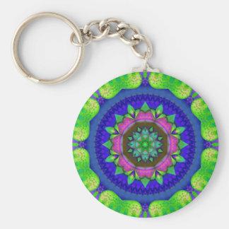 Colored Kaleidoscope Key Chain
