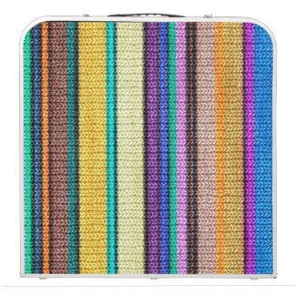 Colored knitting Stripes seamless pattern 1 Pong Table