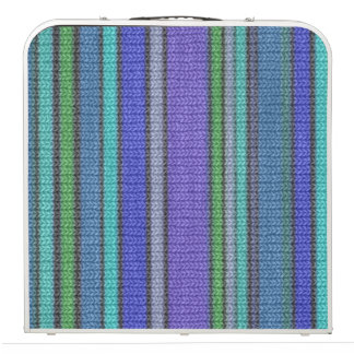 Colored knitting Stripes seamless pattern 2 Pong Table