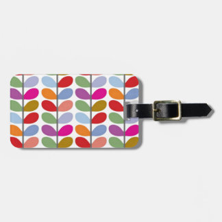 Colored Leaf Art Bag Tag