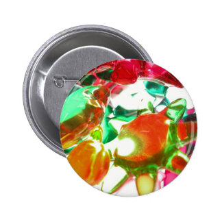 Colored Lights 2 Inch Round Button