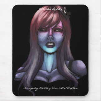 Colored Lights Mouse Pad