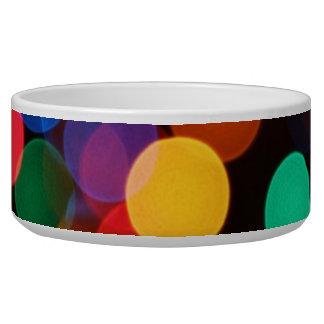 Colored Lights Pet Bowl