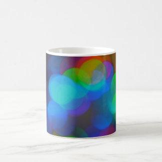Colored Lights sticker Mugs
