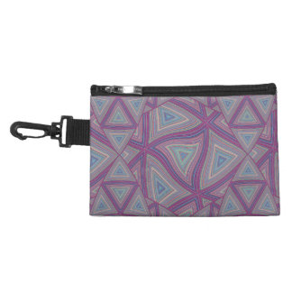 Colored Lines Warped Accessories Bags