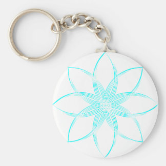 Colored Lotus Keychain