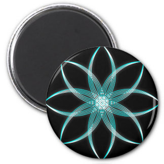Colored Lotus Magnets