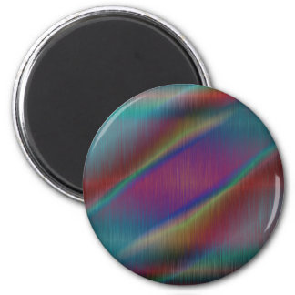 Colored Metal Abstract Lines Fridge Magnets