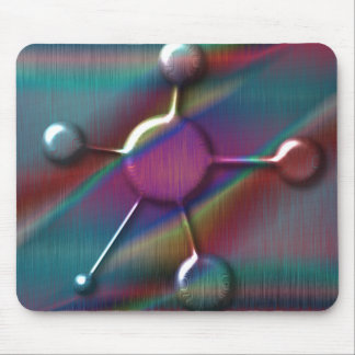 Colored Metal with Gel Molecule Mouse Pad