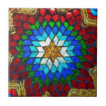 Colored mosaic art small square tile