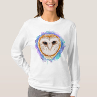 Colored owl T-Shirt