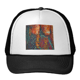 Colored Paisley pattern Hats