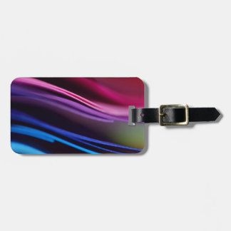 Colored Paper Abstract Bag Tag