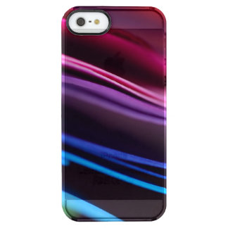 Colored Paper Abstract Clear iPhone SE/5/5s Case