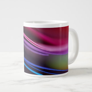 Colored Paper Abstract Giant Coffee Mug