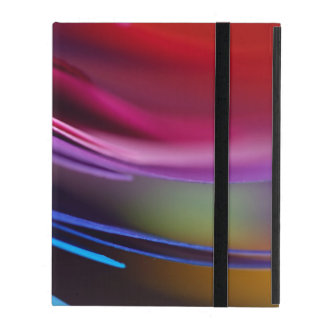Colored Paper Abstract iPad Cases
